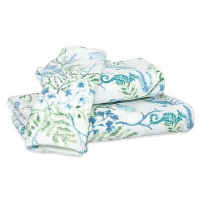 Holthaus Seaweed Print Hand Towel