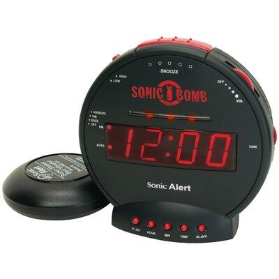 Sonic Bomb Alarm Tabletop Clock 39428C005A1840ACA2DCA6A1418373AD