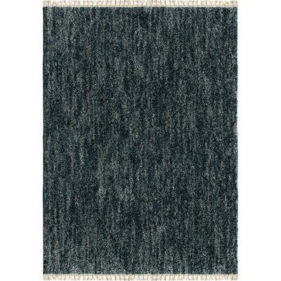 Danville Solid Bedouin Indigo Area Rug Rug Size: Rectangle 710 x 1010