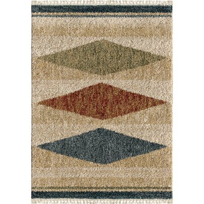 Danvers Ivory Area Rug Rug Size: Rectangle 53 x 76