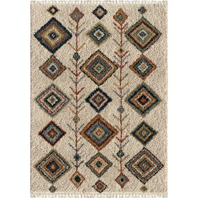 Danbury Ivory Area Rug Rug Size: Rectangle 710 x 1010