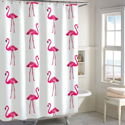 Pinard 100% Cotton Shower Curtain