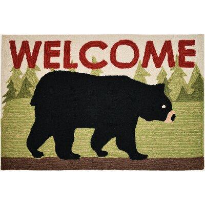 Tassone Bear Welcome Doormat