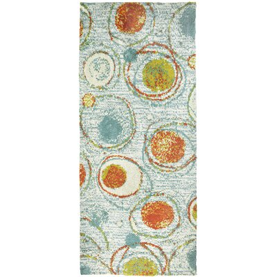Eastep Sea Glass Cream Area Rug Rug Size: Runner 22 x 5