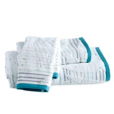 Hernandez Stripe Fingertip Towel