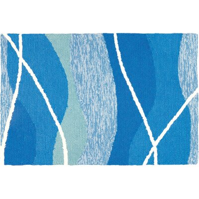 Quoc Tranquility Hand-Woven Blue Indoor/Outdoor Area Rug Rug Size: Rectangle 11 x 210