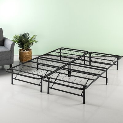 Helms Regular Bed Frame Size: 10 H x 60 W x 80 D