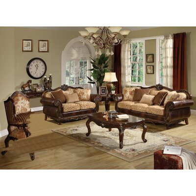 Rozier 3 Piece Living Room Set