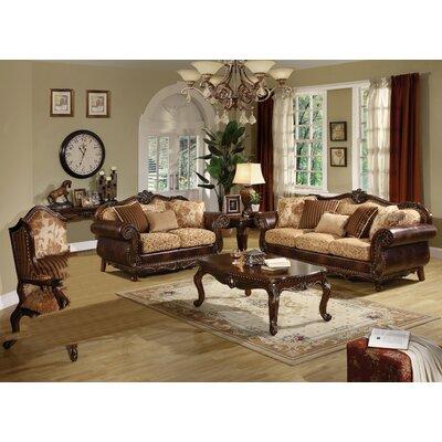 Rozier 3 Piece Living Room Set