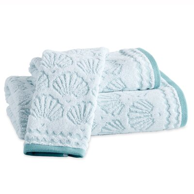 Junhee Shells Bath Towel Color: Aqua