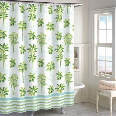 Blithedale Palm Shower Curtain
