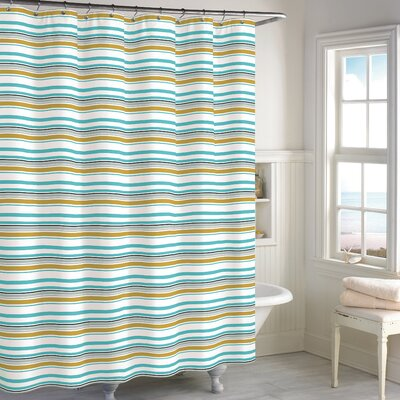 Cimino Stripe Cotton Shower Curtain