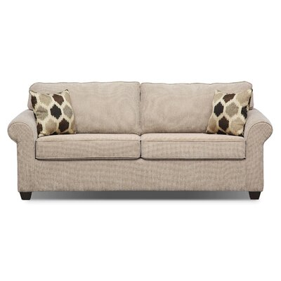 Marcellus Sleeper Upholstery: Brown, Size: Queen