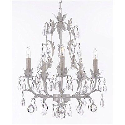 Molden Floral 5-Light Candle-Style Chandelier