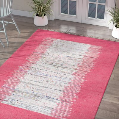 Grayling Turin Pink Area Rug Rug Size: Rectangle 8 x 10