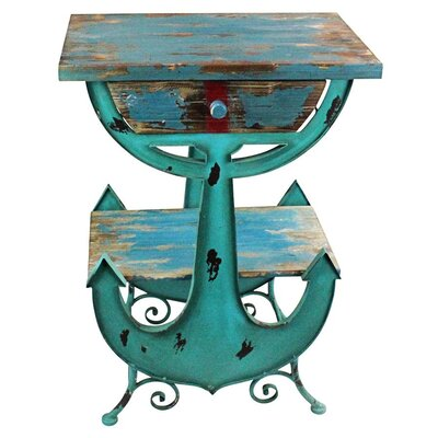 Anchors Aweigh Coastal End Table