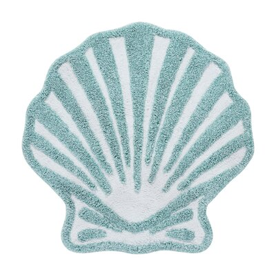 Jarosz Bath Rug Color: Aqua