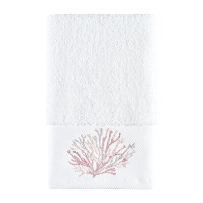 Jarosz Hand Towel Color: Coral