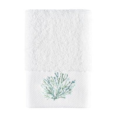 Jarosz Fingertip Towel Color: Aqua