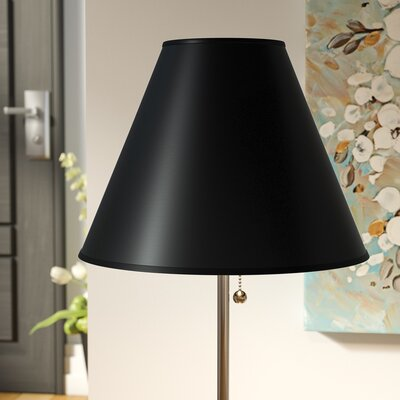 Hardback 9 Linen Empire Lamp Shade Color: Black