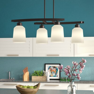 Coffey 4-Light Kitchen Island Pendant Finish: Oil Rubbed Bronze