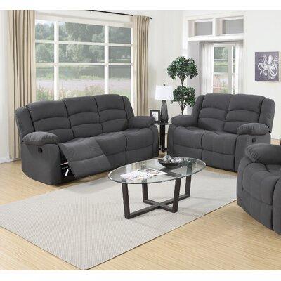 Essex Street 2 Piece Living Room Set Upholstery: Blue Gray