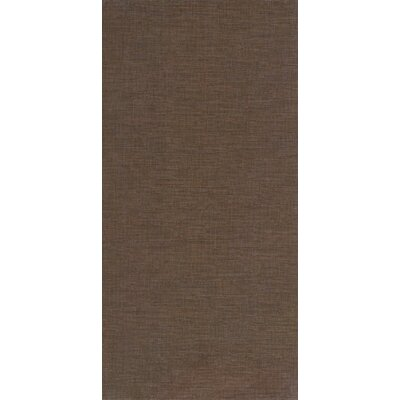 Tessuto 12 x 24 Porcelain Field Tile in Cutch Brown