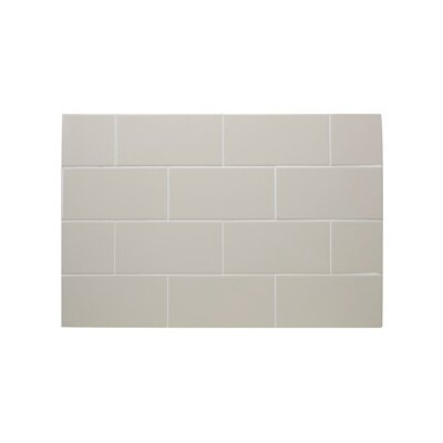 IC Brites 3 x 6 Ceramic Subway Tile in Canvas