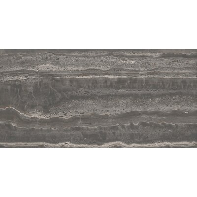 San Giulio 12 x 24 Ceramic Field Tile in Via Gray