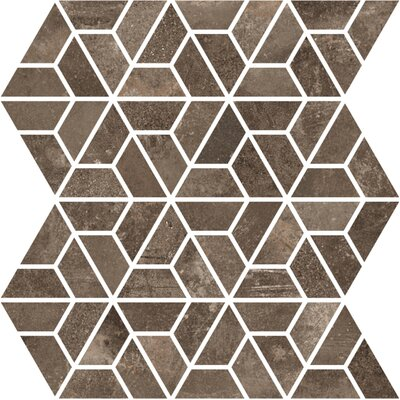 Basole 12 x 10 Ceramic Mosaic Tile in Bruno