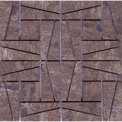 16 x 16 Ceramic Mosaic Tile in Supremo Autumn