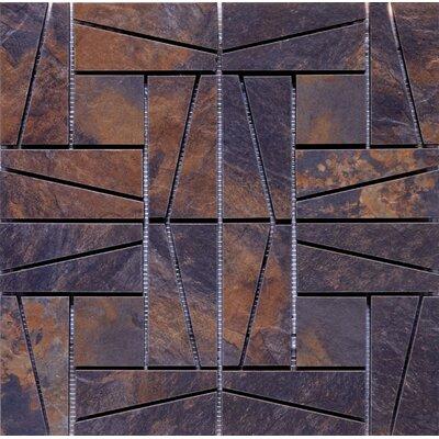 16 x 16 Ceramic Mosaic Tile in Supremo Multicolor
