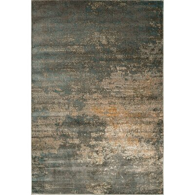 Heflin Abstract Soft Gray Area Rug Rug Size: Rectangle 28 x 5