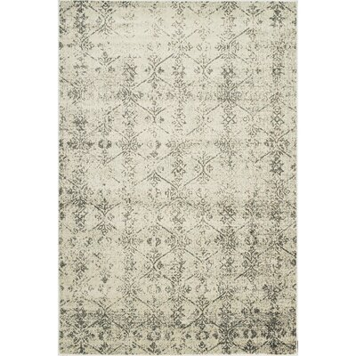 Ramer Soft Gray/Blue Area Rug Rug Size: Rectangle 2 x 3
