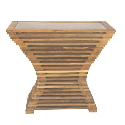 Gilreath Handmade Wooden End Table