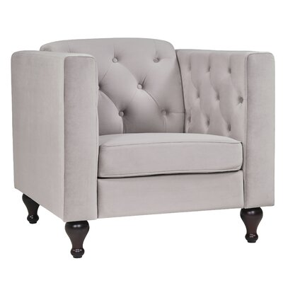 Charlton Home Armchair Upholstery: Dove