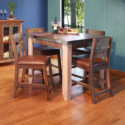 Delphine Counter Height Pub Table Set