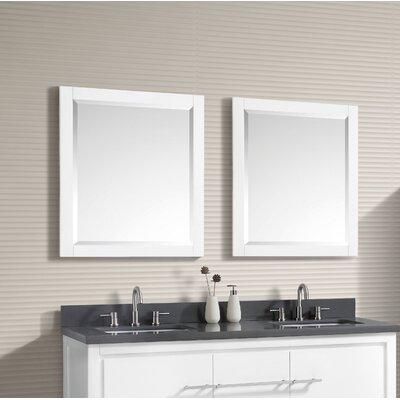 "Liverman Bathroom/Vanity Mirror Size: 32"" H x 24"" W x 1.2"" D A0A809D9A1304707B828141CE68570D8"