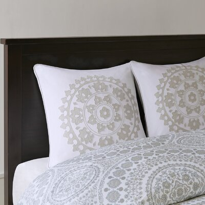 Marco Embroidered Cotton Euro Sham