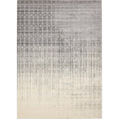 Dungan Gray Area Rug Rug Size: Rectangle 10 x 14