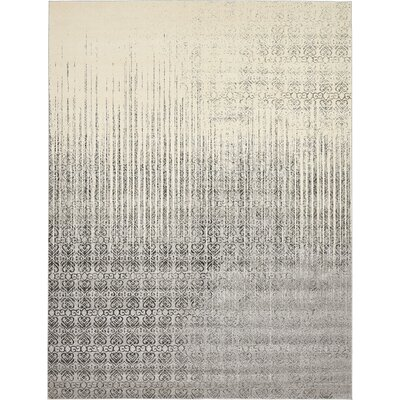 Dungan Gray Area Rug Rug Size: Rectangle 10 x 13