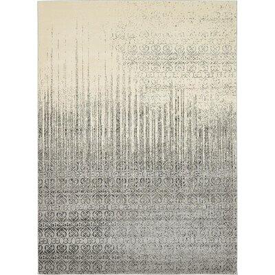 Dungan Gray Area Rug Rug Size: Rectangle 8 x 11