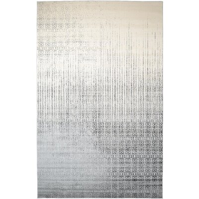 Dungan Gray Area Rug Rug Size: Rectangle 10 x 16