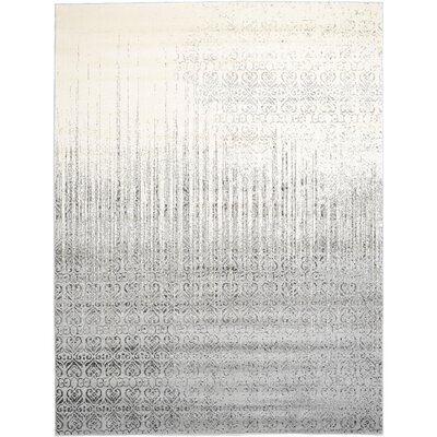 Dungan Gray Area Rug Rug Size: Rectangle 9 x 12