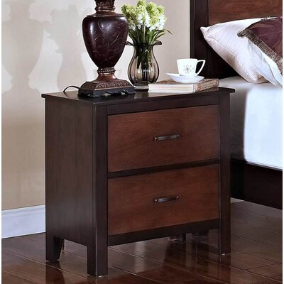 Engler 2 Drawer Nightstand