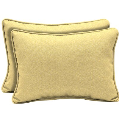 Crowl Texture Outdoor Lumbar Pillow