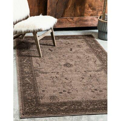 Shailene Brown Area Rug Rug Size: Rectangle 5 x 8