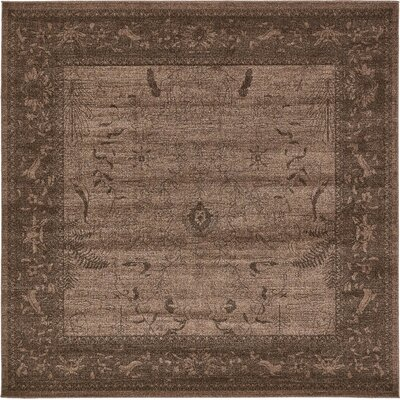 Shailene Brown Area Rug Rug Size: Square 8