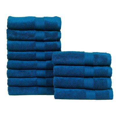 Kring Zero Twist Hand Towel Color: Navy