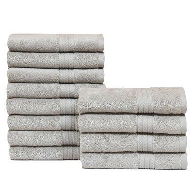 Kring Zero Twist Hand Towel Color: Silver